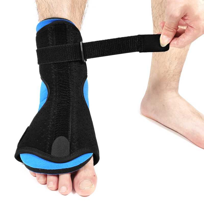 Ankle Foot Orthosis Support Large Left Drop Foot Support Splint by HealthNode