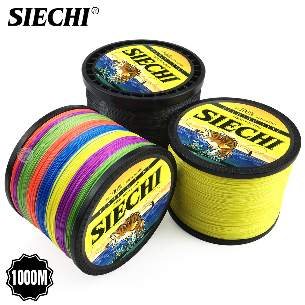 SIECHI Fishing-Line Braid Carp 4-Strands Strandsmultifilament 300M 8 500m-1000m title=