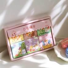 JIANWU 300 arkuszy Yunbian Shop Series naklejki w pudełku zestaw Journal dekoracja naklejki księga gości DIY stacjonarne artykuły szkolne