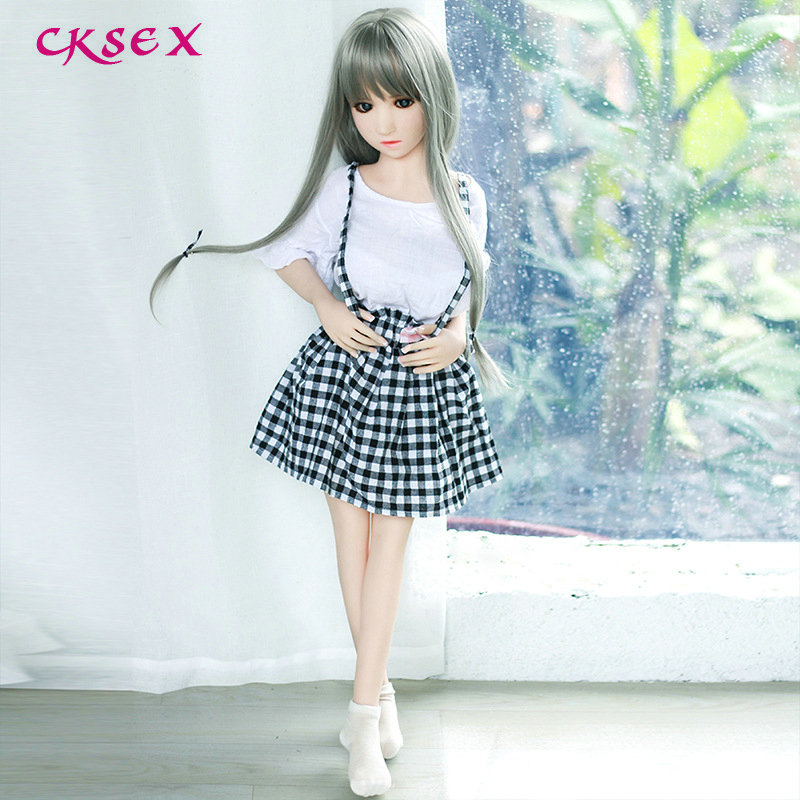 CKSex <font><b>Small</b></font> 100 cm NEW Top quality silicone real <font><b>sex</b></font> <font><b>doll</b></font> samll <font><b>breast</b></font> Lifelike Silicone Love <font><b>Dolls</b></font> Sexy Adult Toys image