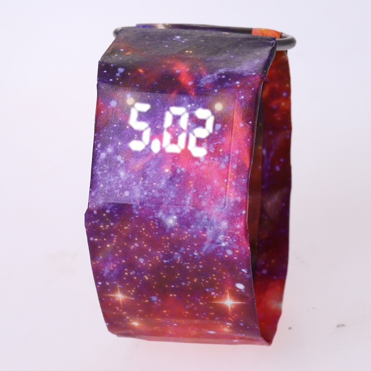 2020 Trendy DIGITAL LED Watch Paper Water/Tear Resistant Watch Perfect Gift 15 16
