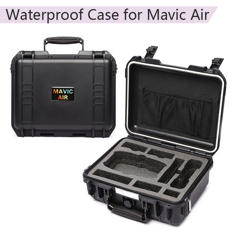 Hardshell Bag Storage Box Suitcase Waterproof Carrying Case for DJI Mavic Air Battery Controller Data Line Drone Accessories
