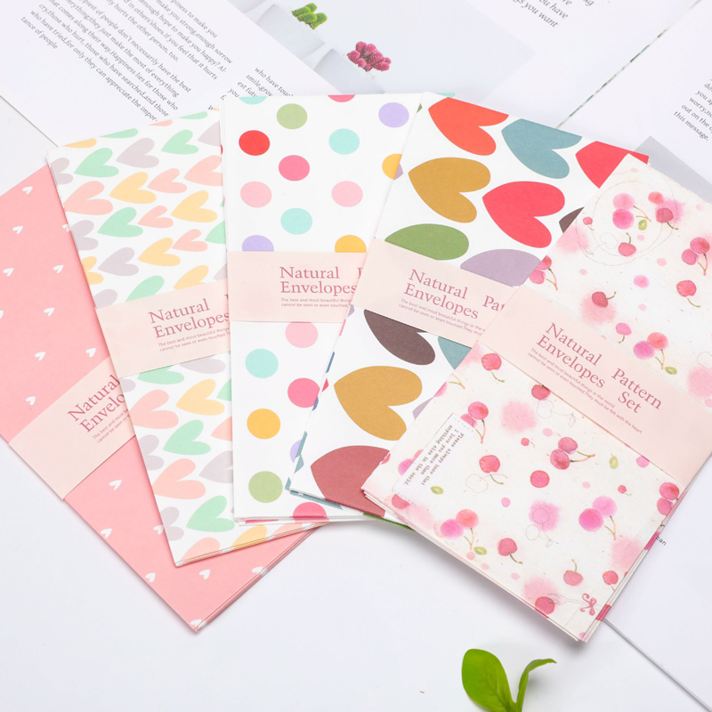 20 Pcs/lot Cut Paper Envelope Mini Small Baby Kids Gift Craft Envelopes For Wedding Letter Post Stationery Supply