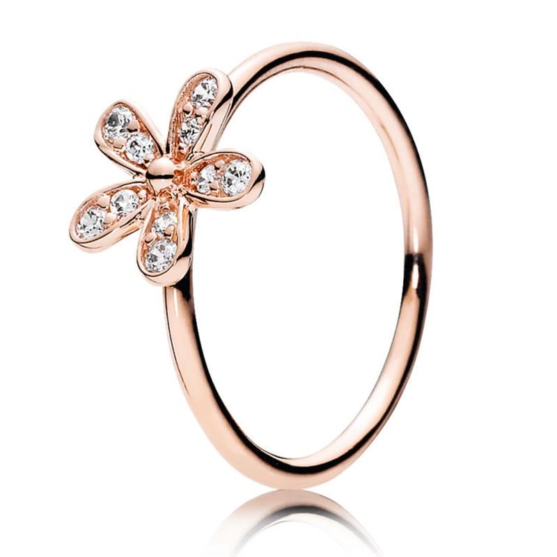 Кольцо на палец в форме сердечко серебряного цвета для женщин, европейская оригинальная Корона, изящные кольца на палец, свадебные украшения, 50 стилей, Прямая поставка - Цвет основного камня: Rings 029