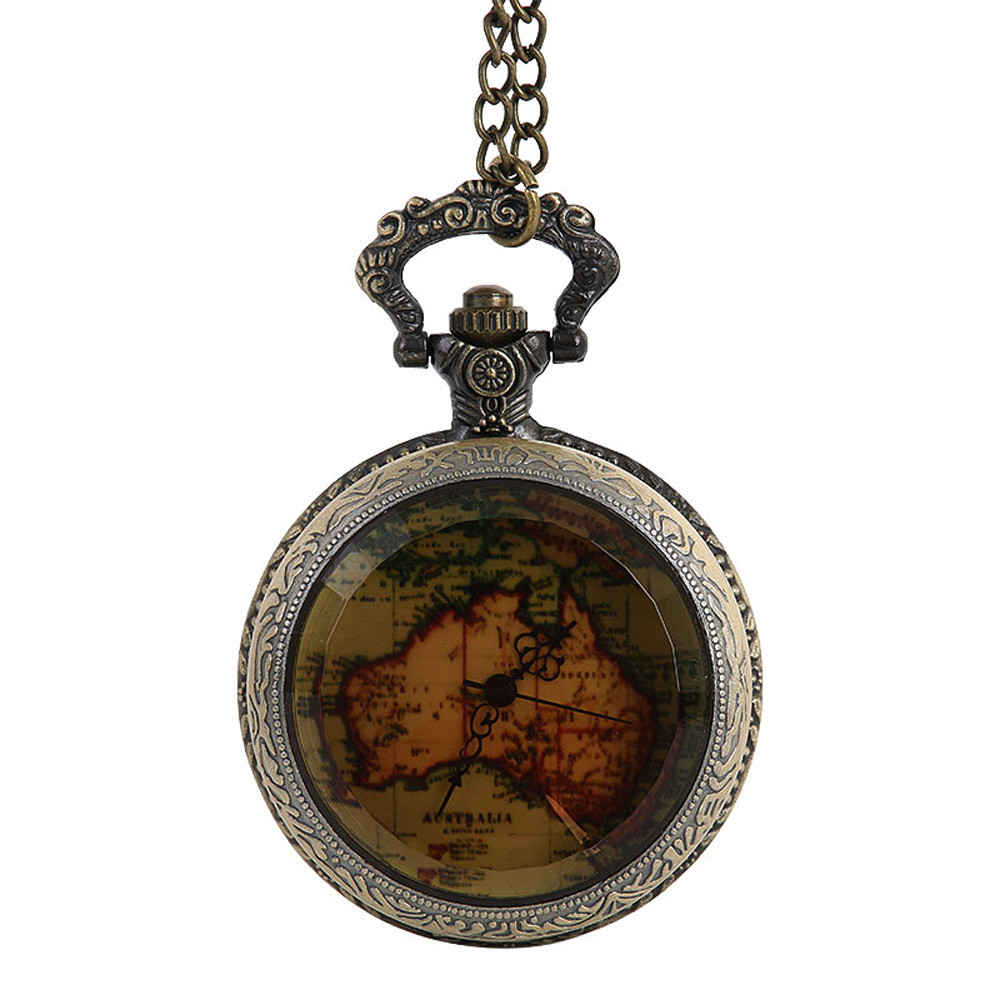 Pocket & Fob Watches Vintage Bronze Steampunk Pocket Watch Hollow Vintage Watch relojes Necklace Chain Best Gift Pendant #10