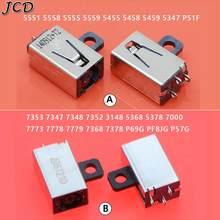 JCD 10PCS Jack di alimentazione cc per DELL Inspiron 5555 5558 5559 3558 3559 3459 5455 5458 5459 7460 7560 3147 connettore cc presa per Laptop