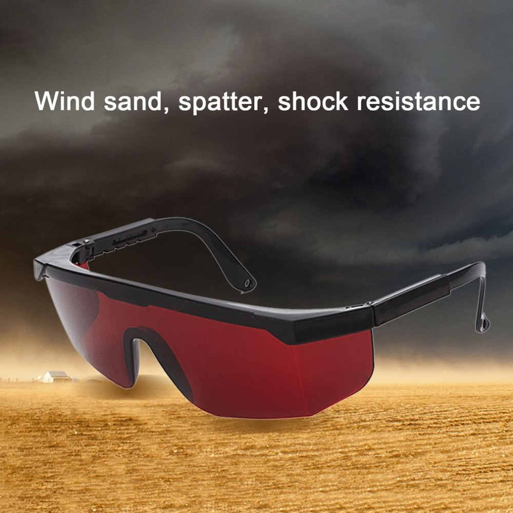 Laser Protect Safety Glasses PC Eyeglass Welding Laser Eyewear Eye Protective Goggles Unisex Black Frame Lightproof Glasses