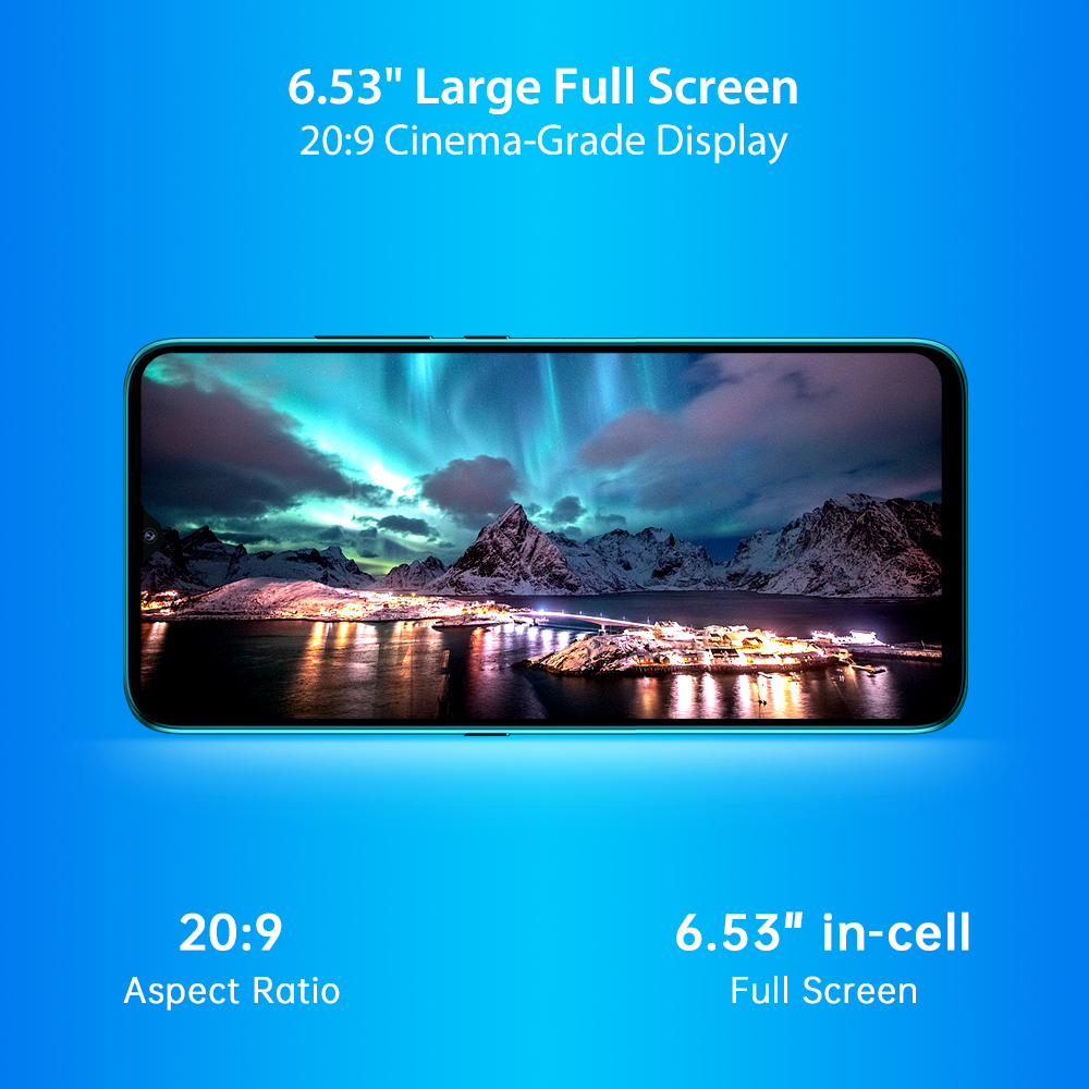"In-Stock UMIDIGI A7S Smart Phone 6.53"" Screen 32GB 4150mAh Triple Camera Global Version Cellphone Infrared Temperature Sensor 6"