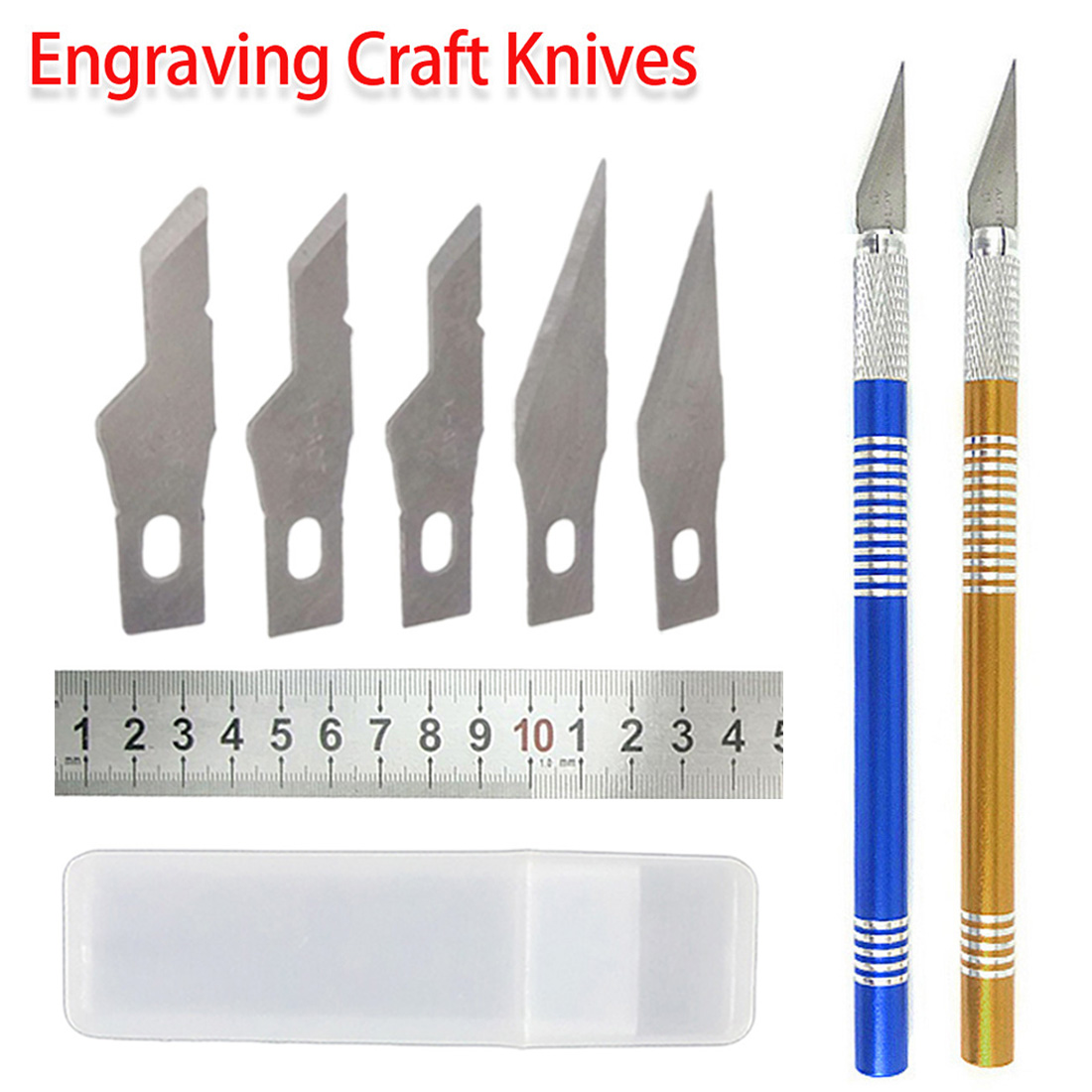 Engrave Tool 10pcs/ 6pcs Scraping Knife Balde Set Phone Repair Cutting Blade Tin Scraper Sculpture For PCB BGA Repair Hand Tool