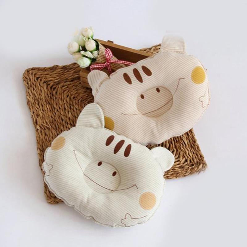 Baby Head Protection Cushion Pillow Newborn Baby Kids Pillows Animal Print Kids Pillow Sleep Positioner