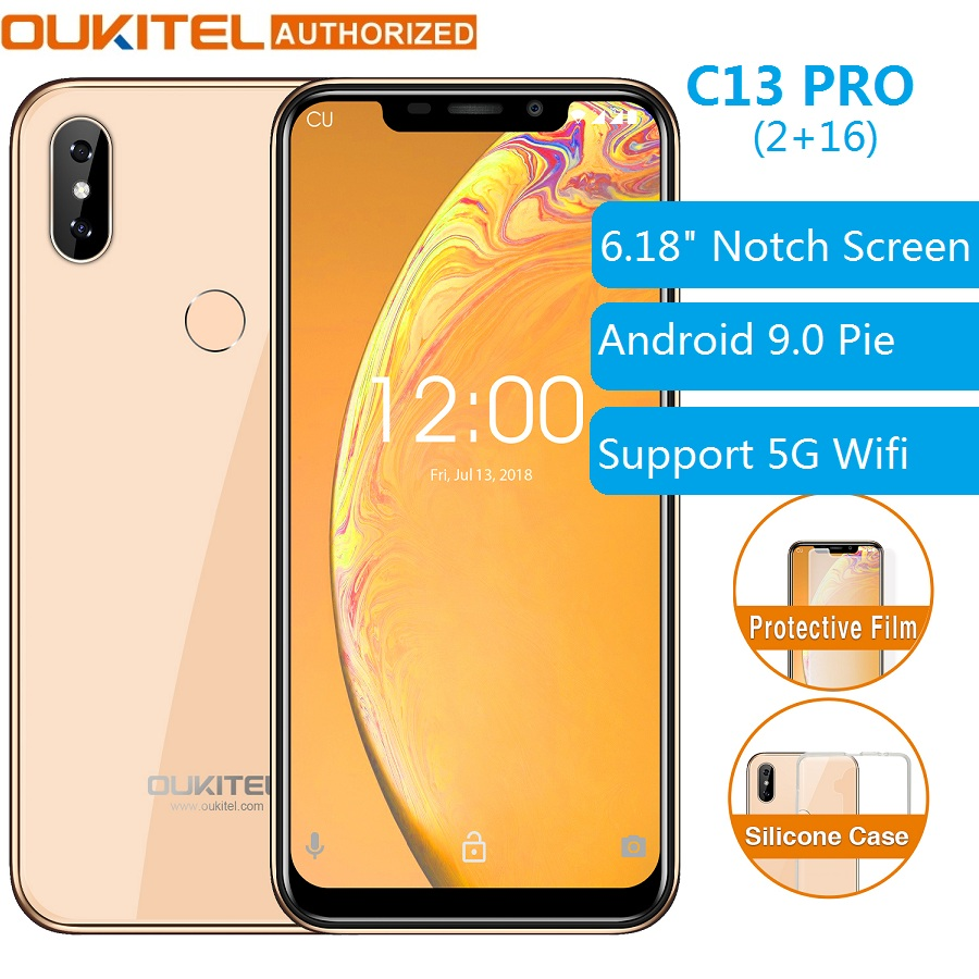 OUKITEL C13 Pro 4G Smartphone 5G/2.4G WIFI 6.18