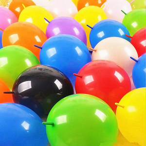 Balloon Latex Helium Shower-Supplies Birthday-Party-Decoration Inflated-Link Wedding
