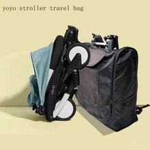 Купить с кэшбэком Travel Bag Carry Case Baby Stroller Backpack Oxford Cloth Waterproof Organizer For Yoyo+ Yoya Babytime Stroller Accessories