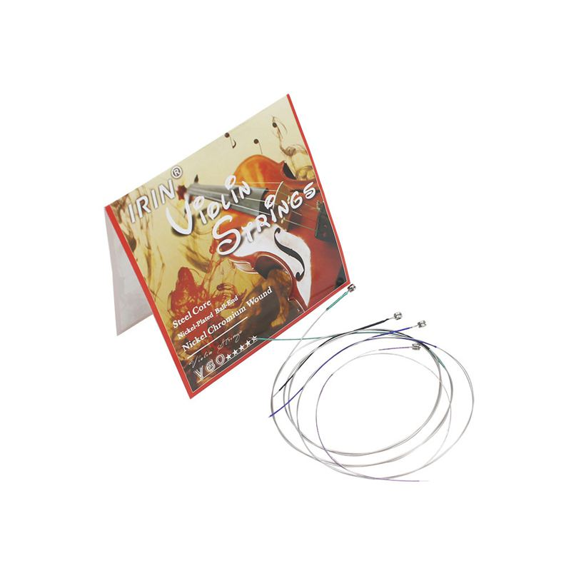 V60 Moderate Violin String GDAE Common Size Professional Treble Vigorous Nickel Chrome Common Size Durable Chord