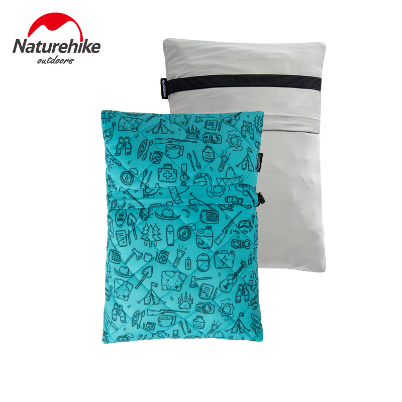 Naturehike Ultralight Portable Outdoor Travel Neck Support Pillow Compressible Back Lumbar Support Pillow Compact Camping Pillow