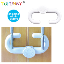 TUSUNNY 1 Pc  Plastic ABS Baby Safety Lock  ABS Safety Lock safety For Children  Protection Safety in Cabinet kids safety lock цена 2017
