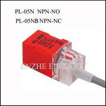 Fotek Proximity schalter sensor drei-draht DC PL-05N PL-05NB NPN-NO/NC allgemeine cormer spalte ansatz schalter IP67 Metall sensor
