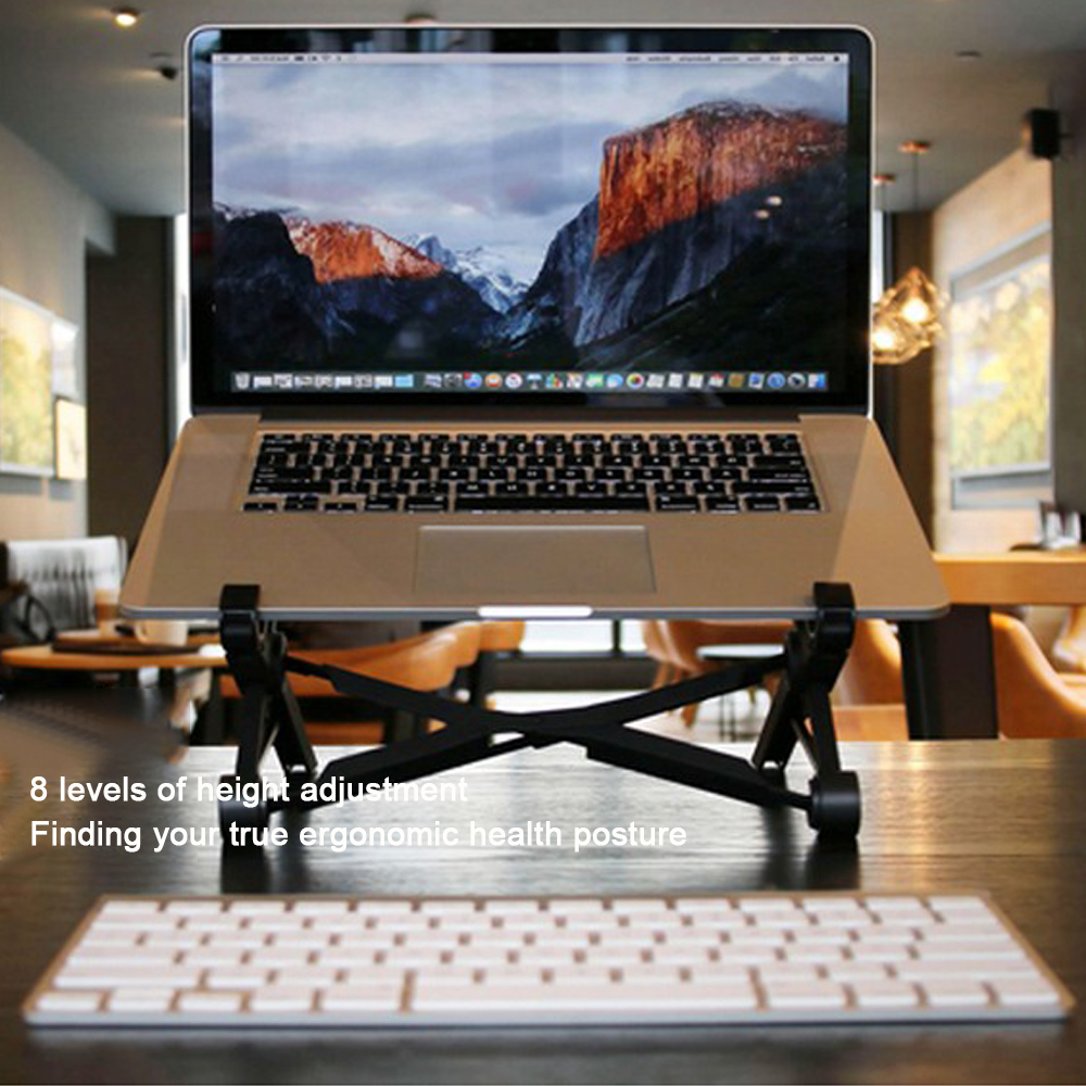 K1 Support Bracket Portable Stand Adjustable Foldable Holder For Laptop Notebook Tablet Holder For Macbook Gaming Pad Work