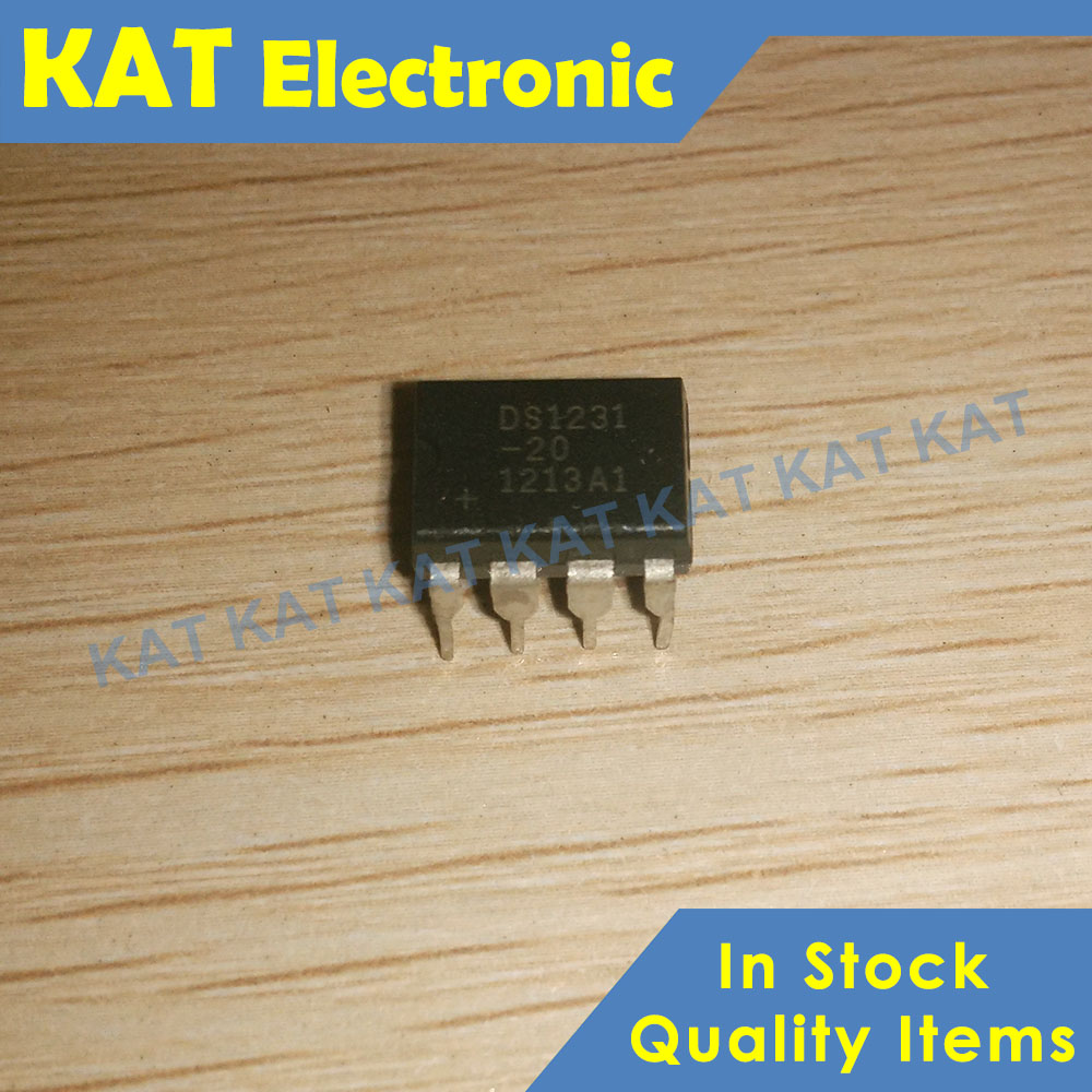 5PCS/Lot DS1231-20 DS1231 DIP-8 Power Monitor Chip