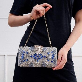 Luxury Diamond Embellished design Clutch 4