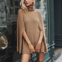Sweter z golfem sweter z golfem nowy sweter z dzianiny z wełny jednolity kolor płaszcz z dzianiny w stylu kobiet tanie tanio COTTON Akrylowe other Mieszkanie dzianiny REGULAR Osób w wieku 18-35 lat Połowa NONE STANDARD WOMEN Anglia styl