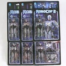 Hiya Toys RoboCop Battle поврежденная версия. Масштаб 1/18, ПВХ экшн-фигурки, модели, игрушки, фигурки