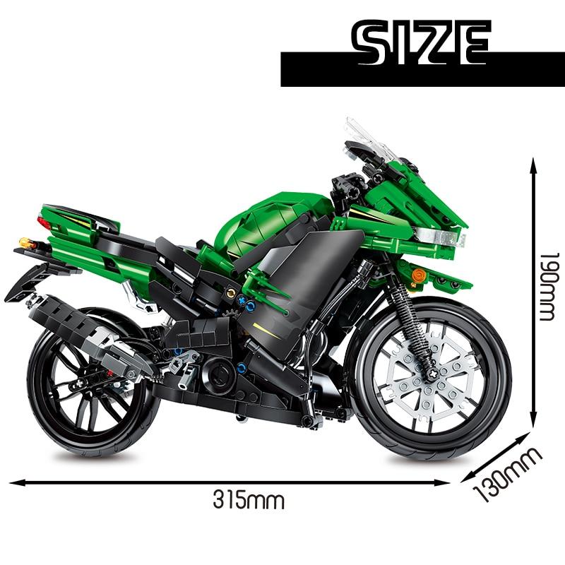 SEMBO City Off-Road Motorbike