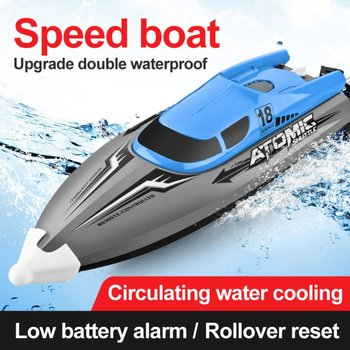 Remote Control Boat Speed Racing High Speed Water Cooled RC Speedboat Toy Ship Model Educational Children's Toys 2017 new rc boats remote control yacht model ship sailing plastic children electric toy high speed racing rc boat gifts toys