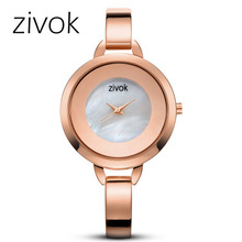 Fashion Rose Gold Women Bracelet Watches Luxury Quartz-Watches Brand Ladies Casual Dress Sport Watch Clock