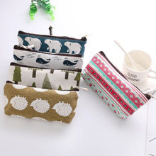 Kawaii pencil case gift student box cute animal bag school office supplies stationery storage new arrive