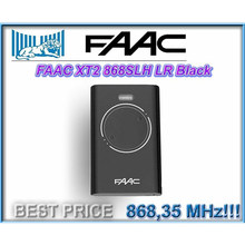 FOR FAAC XT2 868 SLH LR Remote Control 868,35MHz Rolling code black VERY 2019(China)