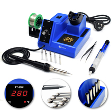 ToAuto FT-80W Soldering Station Digital Display Rapid Heating Desoldering Iron  Handle Universal 80W Power Heating System