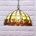 Тиффани  подвесной светильник с цветком  светодиодный подвесной светильник с витражным стеклом  подвесной светильник из цветного стекла дл...