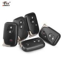 Dandkey Car Remote Key 2 3 4 Buttons For Lexus LX470 GS450h GS350 GS430 IS350 SC430 GS250 LX570 ES350 RX350 IS250 TOY48 Blade