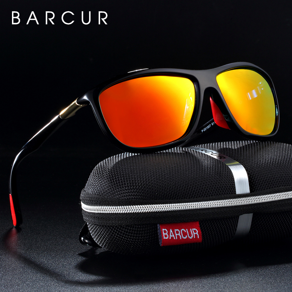 BARCUR спортивные очки мужские солнцезащитные очки поляризованные женские солнцезащитные очки oculos