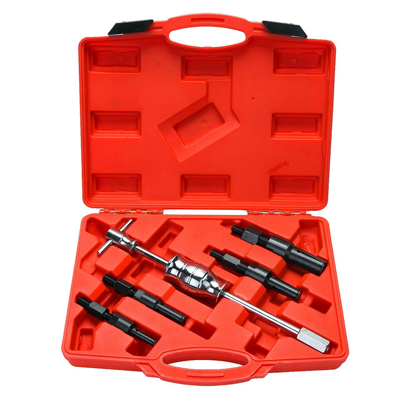 5PCS Blind Hole Slide Hammer Inner Bearing Puller Internal Bearing Blind Hole Remover Extractor Puller 10-32MM