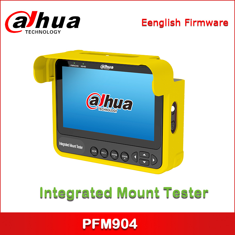 Dahua New Product DH-PFM904 Integrated Mount Tester For HDCVI, TVI, AHD, CVBS Camera