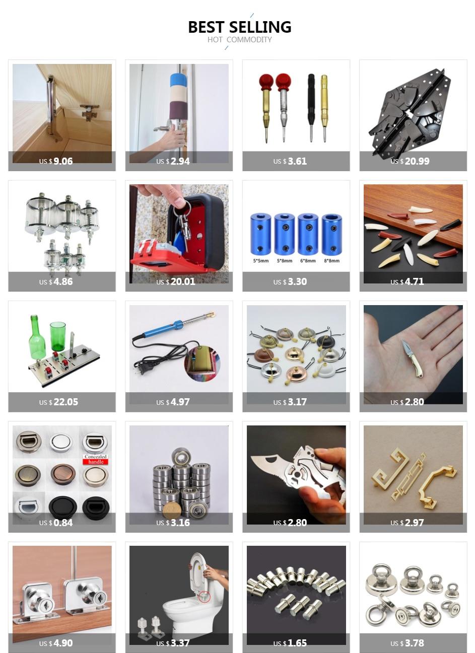 H6b2472cf3ba040b7a7eeed0b625be41fi - New solid Concealed drawer knob ring round handles Wardrobe Cupboard Door handles for interior doors Pulls Furniture Hardware