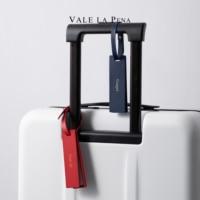Kreative Personalisierte Gepäck tag Faser Leder Reise koffer reise zubehör koffer tag individuelle logo name viajero