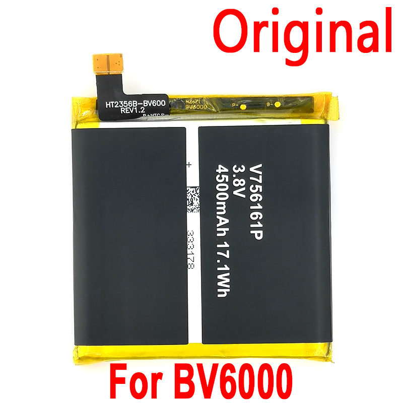 100% Original <font><b>Battery</b></font> For <font><b>Blackview</b></font> BV6000 BV6000S <font><b>BV7000</b></font>/<font><b>BV7000</b></font> <font><b>PRO</b></font> BV8000/BV8000 <font><b>PRO</b></font> Phone Latest Production+Home Delivery image
