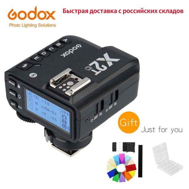 Godox X2 X2T C X2T N X2T S X2T F X2T O X2T P TTL 1/8000s HSS אלחוטי פלאש טריגר עבור Canon ניקון sony Fuji אולימפוס Pentax