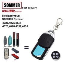 Für SOMMER 4011 4010 4021 4025 TX02-868-2 4035 4031 4026 TX03-868-2 Befehl Garage Tür Fernbedienung 868,35 MHz tor Öffner