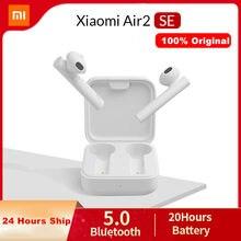Xiaomi air2 se nova versão tws mi verdadeiro sem fio bluetooth fone de ouvido 2 ar básico 2 se fones 20h controle toque da bateria