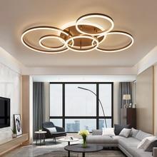 ブラウン/ホワイト led のシャンデリア寝室キッチンシャンデリア Inddor ホーム照明モダンシャンデリア照明 lampadari