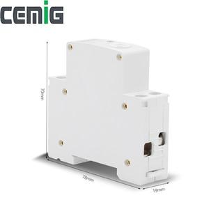 Image 2 - Wifi Intelligente Circuit Breaker Relais Type 1P Din Rail Afstandsbediening Door Ewelink App Smart Home Compatibel Met Alexa google