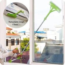 Телескопическая высокая посадка Чистящая губка для стекла Швабра мульти Чистящая Щетка мытье окна щетка от пыли легко чистить окна робот