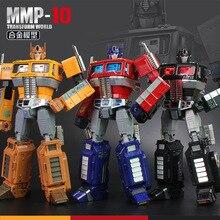 32cm YX MP10 MPP10 Metal parça modeli G1 dönüşüm Robot oyuncak alaşım mmp10 komutanı döküm toplama aksiyon figürü çocuklar hediye