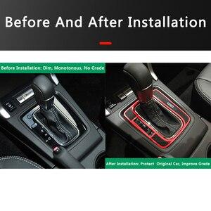 Image 5 - QHCP وسادة تروس مانعة للانزلاق للسيارة ، لوحة تروس لاتكس أوتوماتيكية ، حماية لـ Subaru Forester 2013 2018 ، ملحقات داخلية