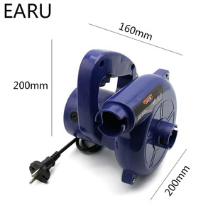 Image 3 - DIY Vacuum Computer Cleaner Electric Industrial Air Blower Dust Blowing Dust Computer Dust Collector Air Blower 600W 220V Vacuum