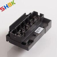 11.22.SHBK.free shipping.Printhead for a3 uv printers  Epson R1390 nozzle  ink head  A3 cylinder UV printer L1800 printer head.